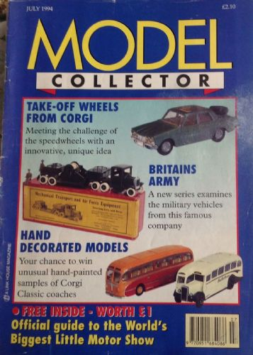 ORIGINAL MODEL COLLECTOR MAGAZINE July 1994